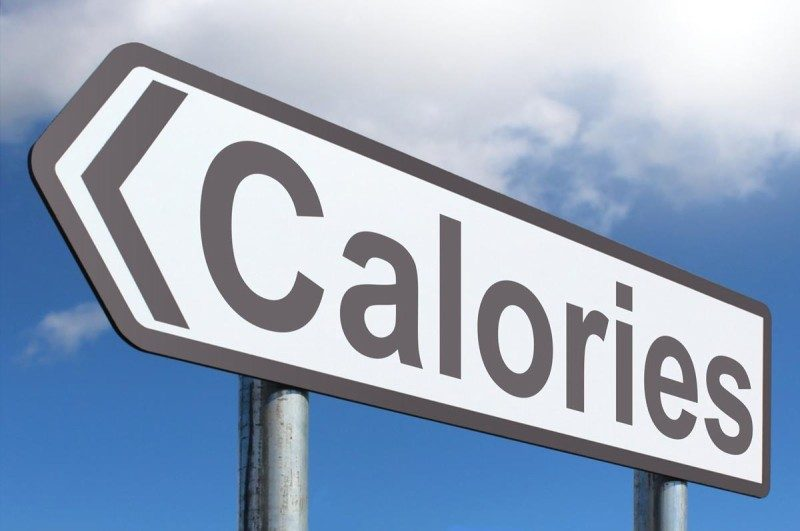Road sign calories burned