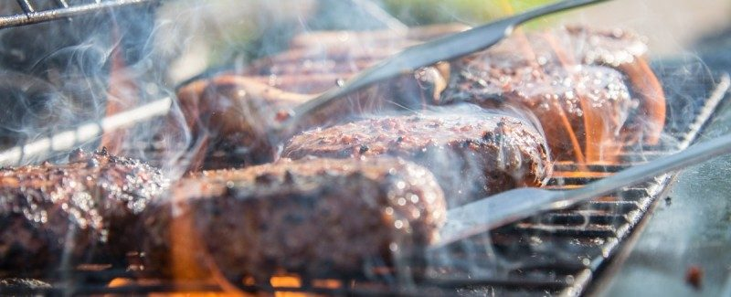 beef in the bbq