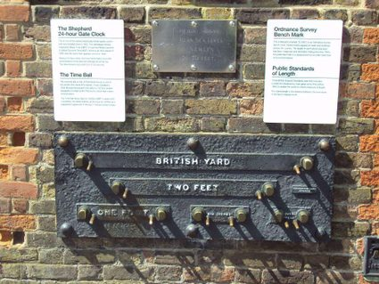 The unofficial public imperial measurement standards, Greenwich