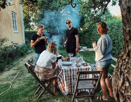 Swedish grill party