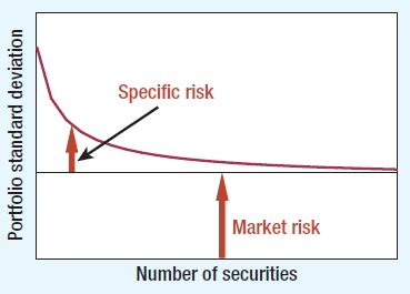 CAPM - Specific risk and market risk