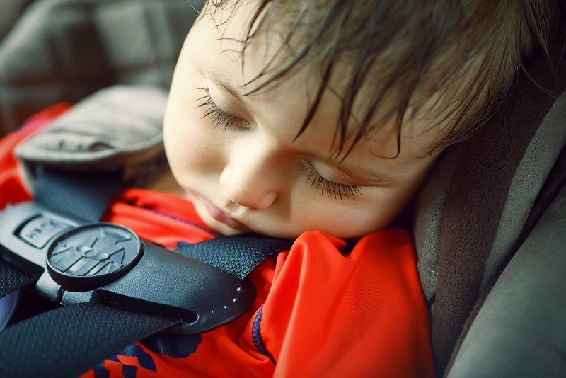 Picture of sleeping child