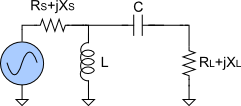 Highpass L-match circuit topology.