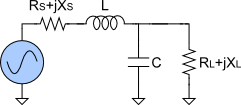 Lowpass L-match circuit topology