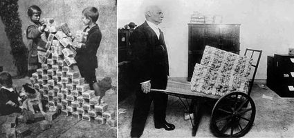 Hyperinflation in 1920s Germany