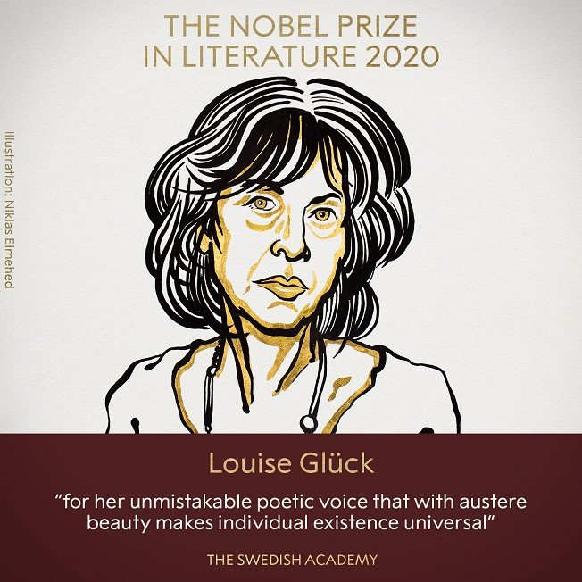 The Nobel Prize in Literature 2020, Louise Glück portrait.