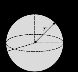 The picture of a ball