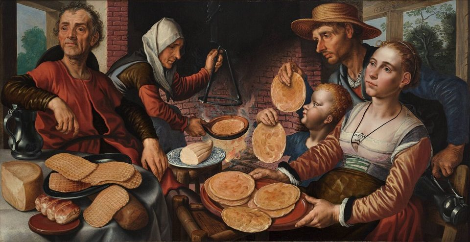 Pieter Aertsen - The Pancake Bakery