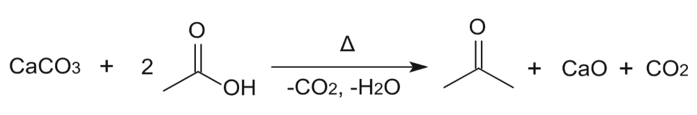 acetone synthesis