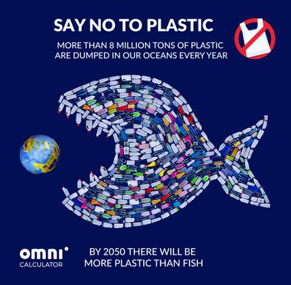 In 2050, we'll probably have as much plastic as fish in the oceans