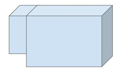 pool with two parts of different depth