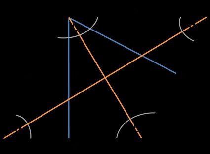 image of a rhombus with sides, diagonals, angles and height marked